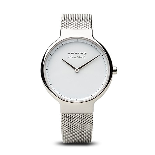 - BERING Time 15531-004 Womens Max René Collection Watch with Mesh Band and Scratch Resistant Sapphire Crystal. Designed in Denmark.
