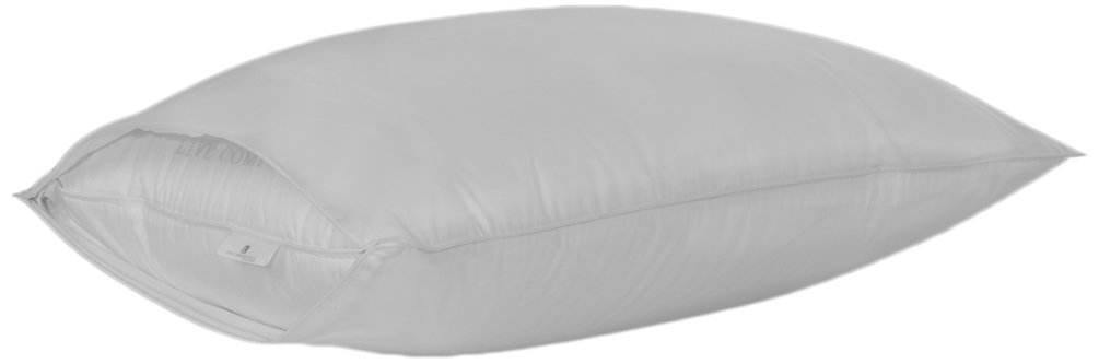 LC Live Comfortably Pillow Protector Certified Asthma & Allergy Friendly, Standard/Queen