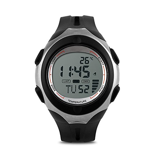 Waterproof Electronic Wristwatch Temperature Thermometer product image