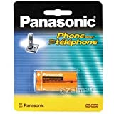 Panasonic New HHR-65AAABU AAA 2 Pack for Panasonic 6.0 Telephone Accessories