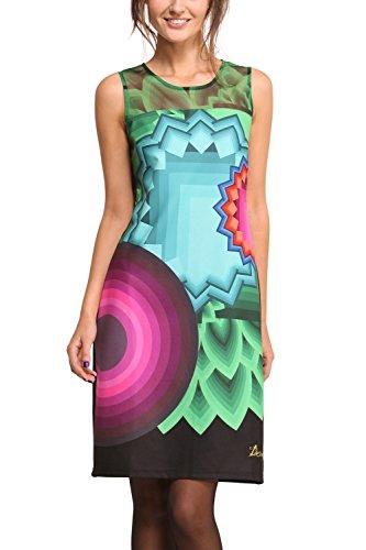 Desigual Dress VEST_CHEEVER, Color: Multicoloured, Size: L