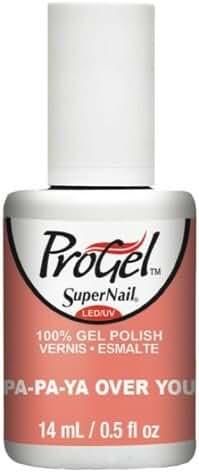 SuperNail ProGel - Pa-Pa-Ya Over You - 14ml / 0.5oz - Sugar Kiss 2016 Spring Collection