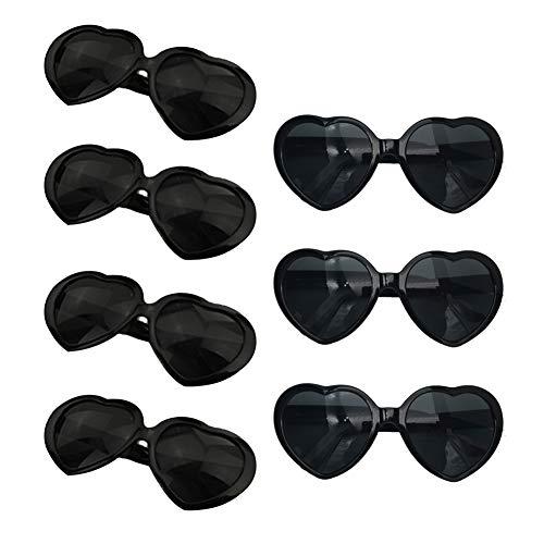 Neon Colors Party Favor Supplies Wholesale Heart Sunglasses