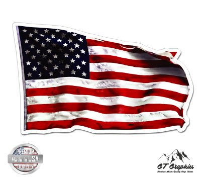 American Flag Waving - 12