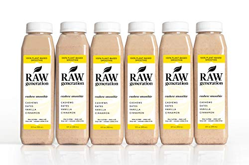 Raw Generation Cashew Smoothie - Healthiest Way to Lose Weight & Stay Strong/Plant-Based Protein Smoothie / 18 Count by RAW generation (Image #3)