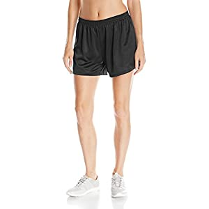 Hanes Women's Sport Mesh Short, Black, X-Large