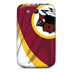Shockproof Hard Cell-phone Cases For Samsung Galaxy S3 With Unique Design Beautiful Washington Redskins Pictures LauraAdamicska
