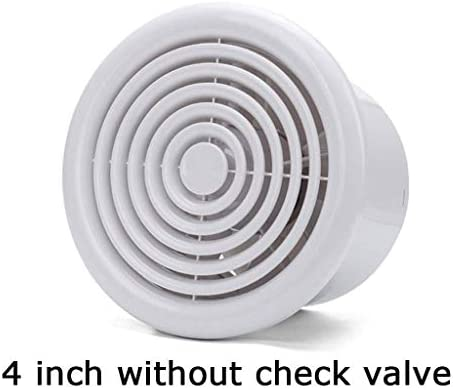 Baibao - Extractor de aire de salida, campana extractora para cuarto de baño, ventana, silenciosa, hogar, cocina, instalación, conducto de ventilación (color: A): Amazon.es: Hogar