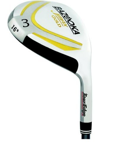 Tour Edge Ladies JMAX Gold #7 Fairway Wood (Left Hand, JMAX Gold Graphite, Ladies, 21 degrees, 41 inches), Outdoor Stuffs