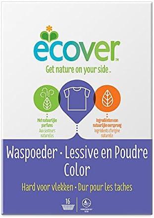 Ecover – Detergente ecológico biodegradable polvo de lavado para ...