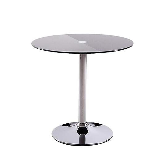 Moderna Mesa de Café Mesa de comedor de cristal redonda de la mesa ...