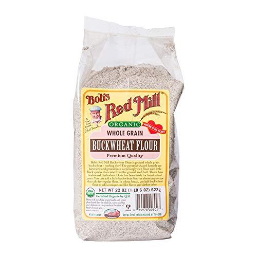 Bob's Red Mill Organic BuckWheat Flour, 22 oz ()