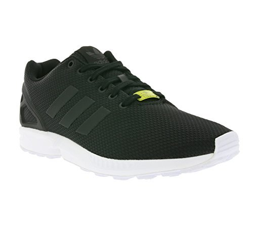 adidas Originals ZX Flux Black/White 10