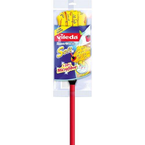 1 opinioni per Vileda 110483 Supermocio Soft Mocio con Manico, con Sistema Easy Click,