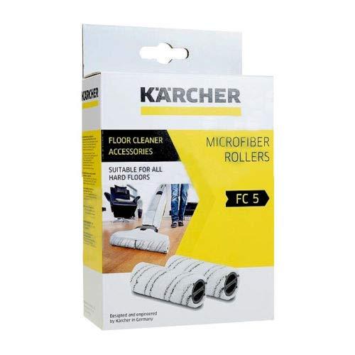 KARCHER FC3 FC5 Wet+Dry Hard Floor Vacuum Cleaner Roller Grey 2055-007.0