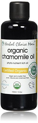 Herbal Choice Mari Organic Chamomile Oil; 3.4floz Glass