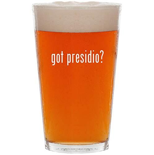 (got presidio? - 16oz All Purpose Pint Beer Glass)