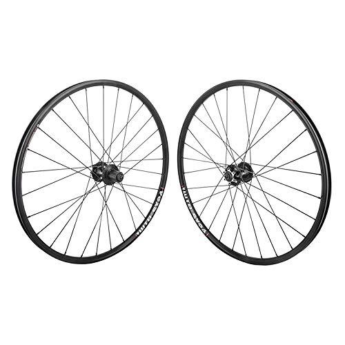 "WTB SX17 Rims 26"" Black Mountain Bike MTB Wheelset 6B 28h Clincher Shimano/SRAM"