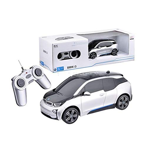 Radio Control Model Car 1/24 BMW i3 Electric RC Car Authentic Body Styling (Sliver)