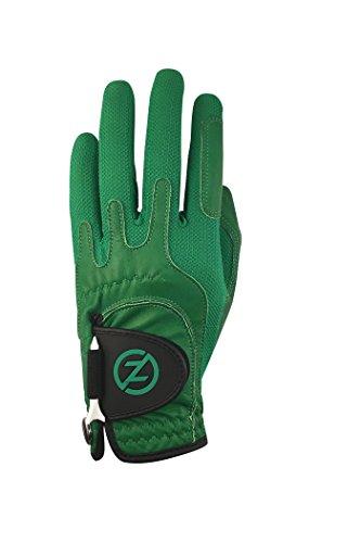 Zero Friction Male Mens Cabretta Elite, Left Hand, Green, One Size