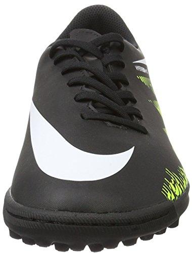 Nike Herren 749891-017 Hallenfußballschuhe Schwarz (Black/White-Volt-Paramount Blue)