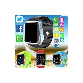 5454b987d A1 Smart Wrist Watch Bluetooth Waterproof GSM Phone For Android Samsung  iPhone Fashion Smart watch