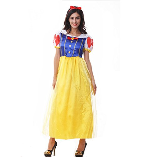 Snow White Adult Costume Women Halloween Costume (Snow White Halloween Costume Adults)
