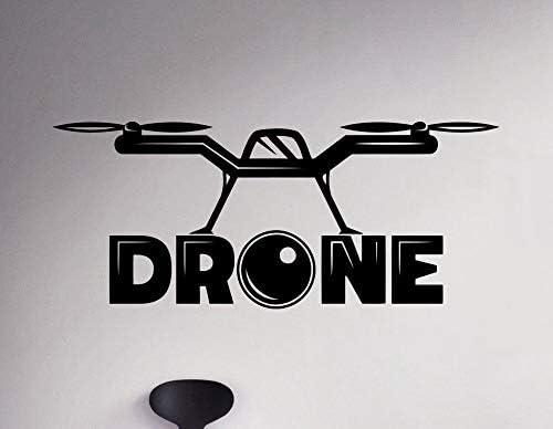 56X132 cm Etiqueta de La Pared Cotizaciones Drone Tatuajes de ...