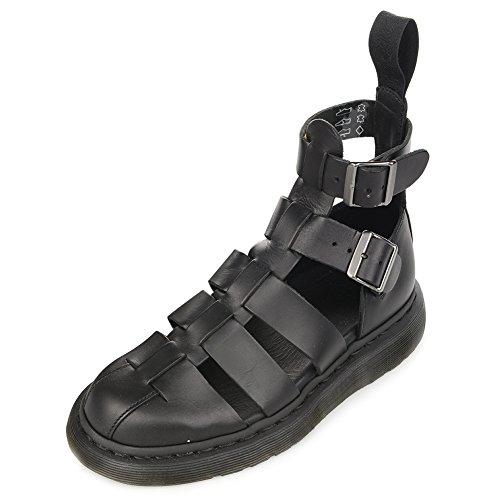 Dr. Martens Geraldo Mode Gladiator Sandal 15696001 Svart Sz Uk 9 (oss Mens 10 Kvinnor 11)