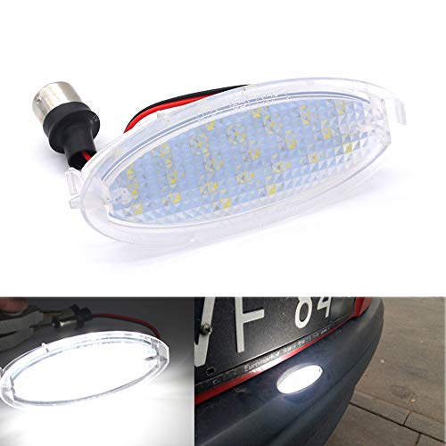 Polarlander 6000K 18SMD Led License Plate Light for Opel Astra F Corsa A-B Vectra B Astra Classic Astra-G + Zafira-A – Go4CarZ Store