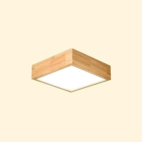 Ywyun lámpara de techo LED de estilo japonés, el hogar, las ...