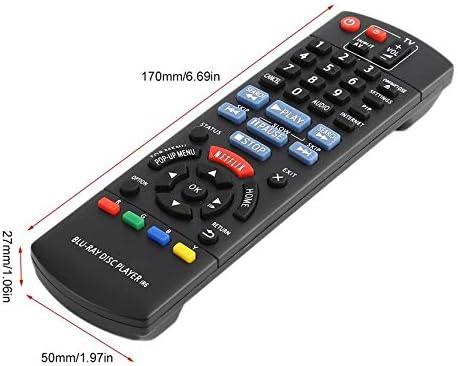 Peanutaso Reemplazo de Control Remoto de Smart TV para Panasonic N2QAYB000867 DMP-BD89 DMP-BD79 Reproductor de DVD con Disco BLU-Ray Partes de Control: Amazon.es: Hogar