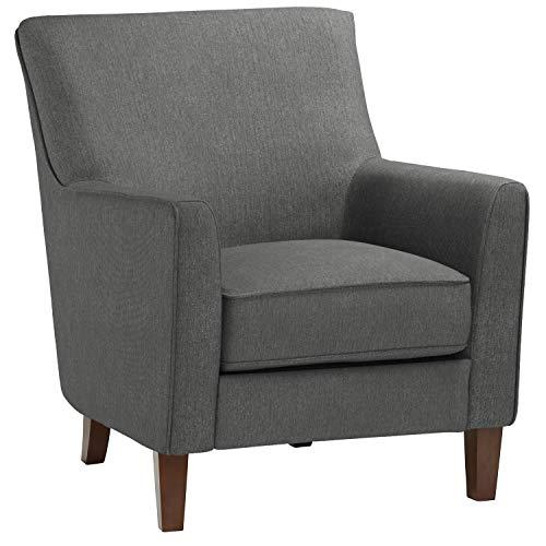 Stone & Beam Cheyanne Modern Accent Chair, 31″W Caviar