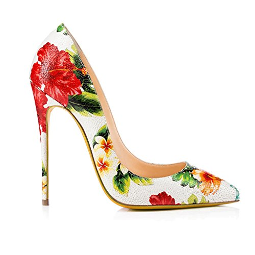 OL Gedruckt Farbe Vier Leder Pendeln Damen Schuhe LYY Ei YY Einzelne Wies Jahreszeiten qwT1nXpfP