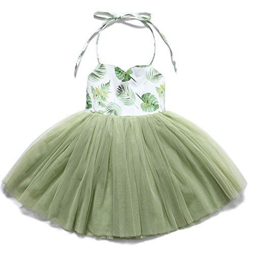 Flofallzique Special Occasion Girls Dress Pink Tutu Wedding Christening Birthday Baby Toddler Clothes (6, Vintage -