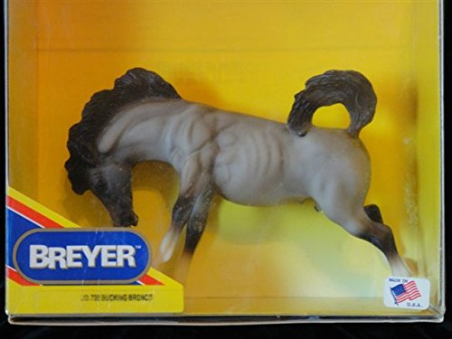 Bucking Horse (Breyer 730 Grulla Rose Grey Bucking Bronco Model Toy Horse -)