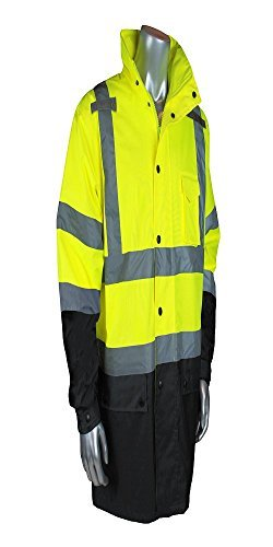 Radians RW30-3Z1Y-2X Class 3 General Purpose Rain Jacket, XX-Large, Green by Radians (Image #1)