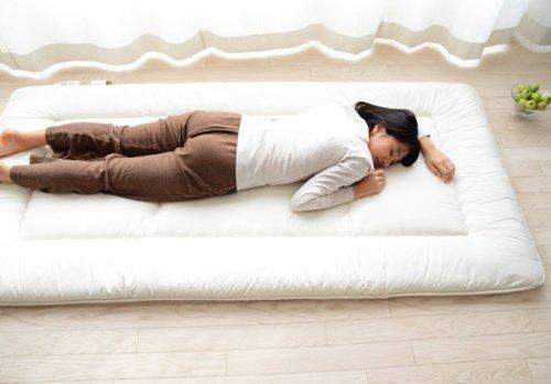 emoor futon mattress shikibuton rococo twin size made in japan desertcart. Black Bedroom Furniture Sets. Home Design Ideas