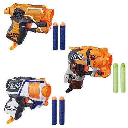 Nerf Micro Shot Blasters 3 Pack