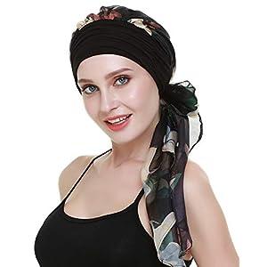 FocusCare la chimio turban pour les femmes cancer confortable tissu coiffure en bambou