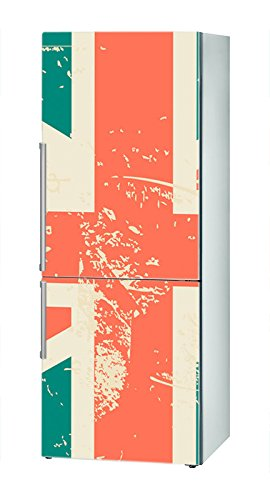 Decusto - Vintage UK Flag - Adhesivo para Decorar Tu Nevera ...