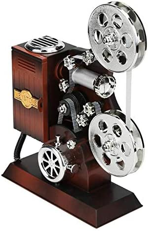 Caja De Música Retro Antigua En Forma De Proyector De Películas ...