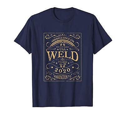 Weld 2020 46th USA President Washington DC Republican Party T-Shirt