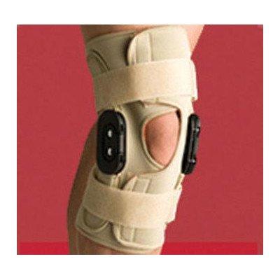 Swede-O 88278 Thermoskin Hinged Knee Brace, Open Wrap, Range of Motion, 3X-Large, Beige