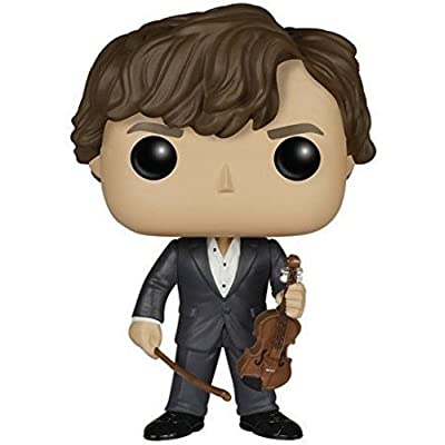 Funko POP TV: Sherlock - Sherlock Holmes with Violin Action Figure: Funko Pop! Television:: Toys & Games