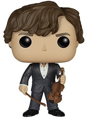 Funko POP TV: Sherlock - Sherlock Holmes with Violin Action Figure