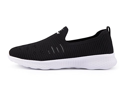 Image of Ezywear Womens Slip on Shoes - EZ83834 Light Weight Breathable Sneakers for Walking,Road Running Shoes