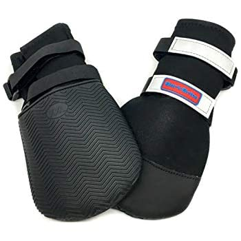 All Weather Neoprene Paw Protector Dog Boots with Reflective Straps in 5 Sizes! (XXL (4.5x4.5 in.))