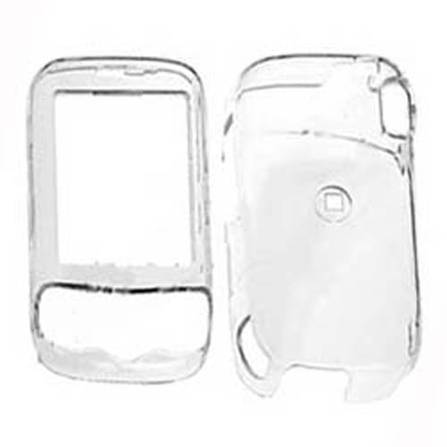 Hard Plastic Snap on Cover Fits HTC Wing, Herald P4350 Transparent (Htc Wing Solid Case)