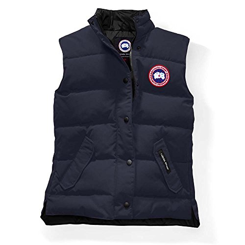 Canada Goose Freestyle Down Vest - Women's (S, Navy Blue) by goose canada